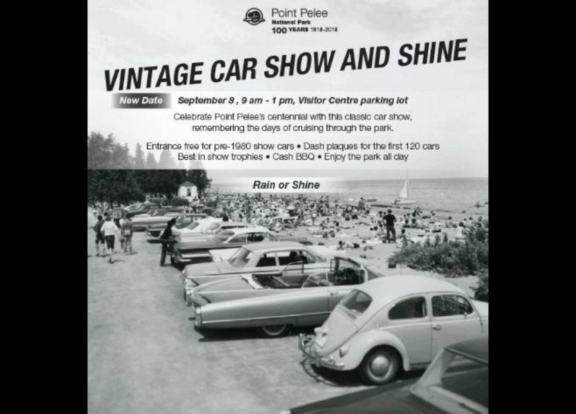 Vintage Car Show And Shine Tourism Windsor Essex Pelee Island - Car show trophies dash plaques